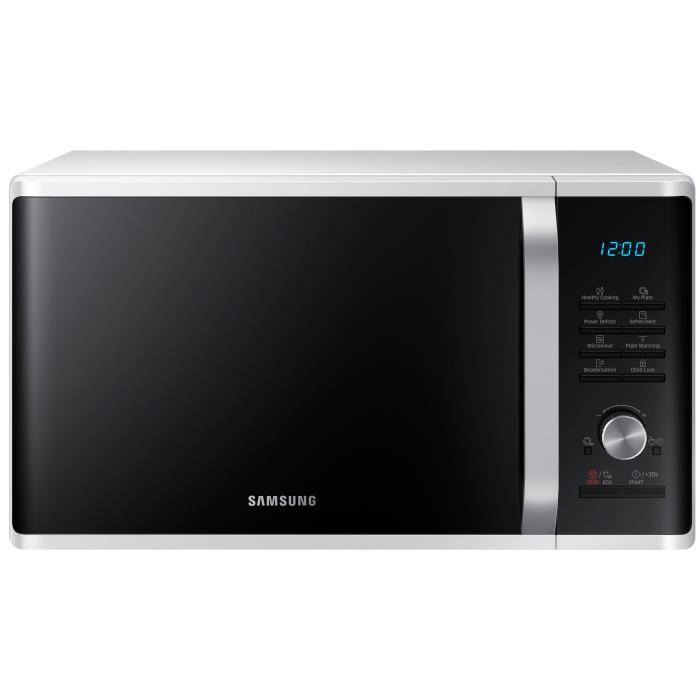 Micro-ondes Samsung MS28J5215AW – 1000W (Via ODR 20€)